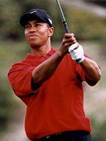 Tiger Woods,photo by Golf Graphics