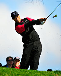 Tiger Woods - Photo by Golf Graphics