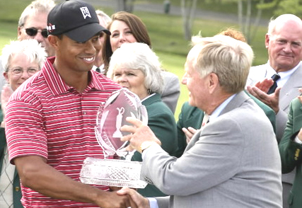 Tiger Woods-Jack Nicklaus-photo by Minority Golf Magazine