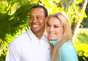 Photo courtesy of Tiger Woods/Lindsey Vonn