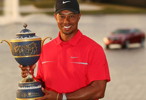 Tiger Woods wins 2013-cadillac photo - MGM
